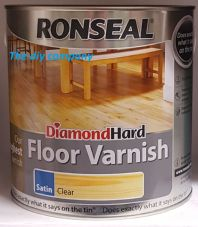 Ronseal Diamond Hard Floor Varnish 2.5 l All Colours Free Delivery